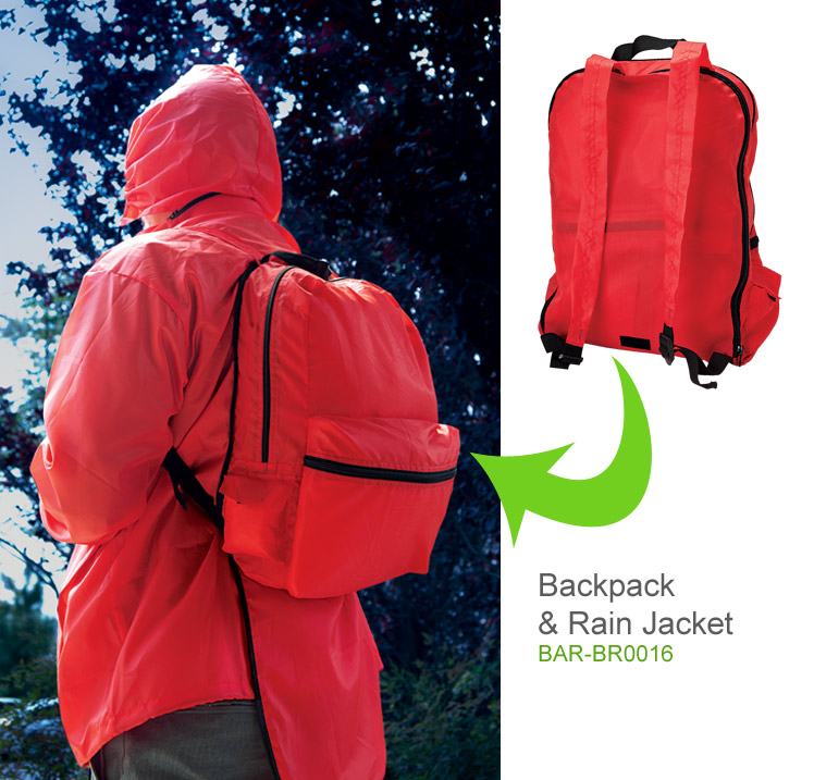 Backpack Rain Jacket - Backpack With Built In Jacket South Africa